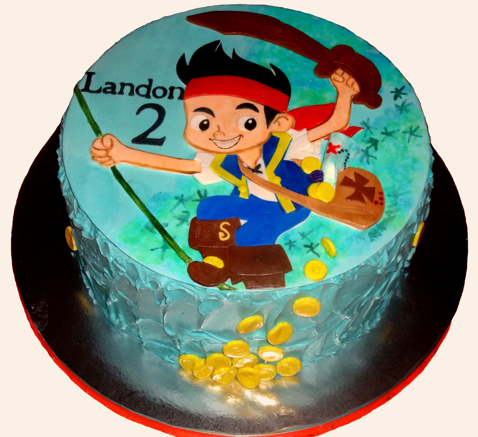 disney pirates cake ideas Jake and the Neverland Pirates 2nd