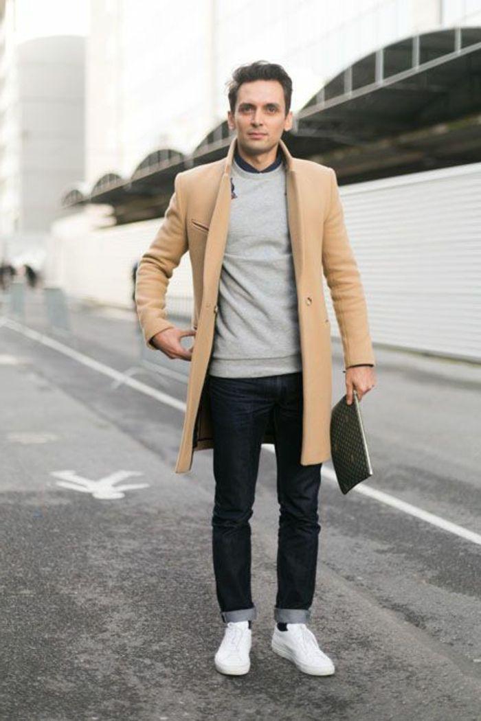 les tendances chez le manteau long homme en 48 photos manteau camel manteau et hommes. Black Bedroom Furniture Sets. Home Design Ideas