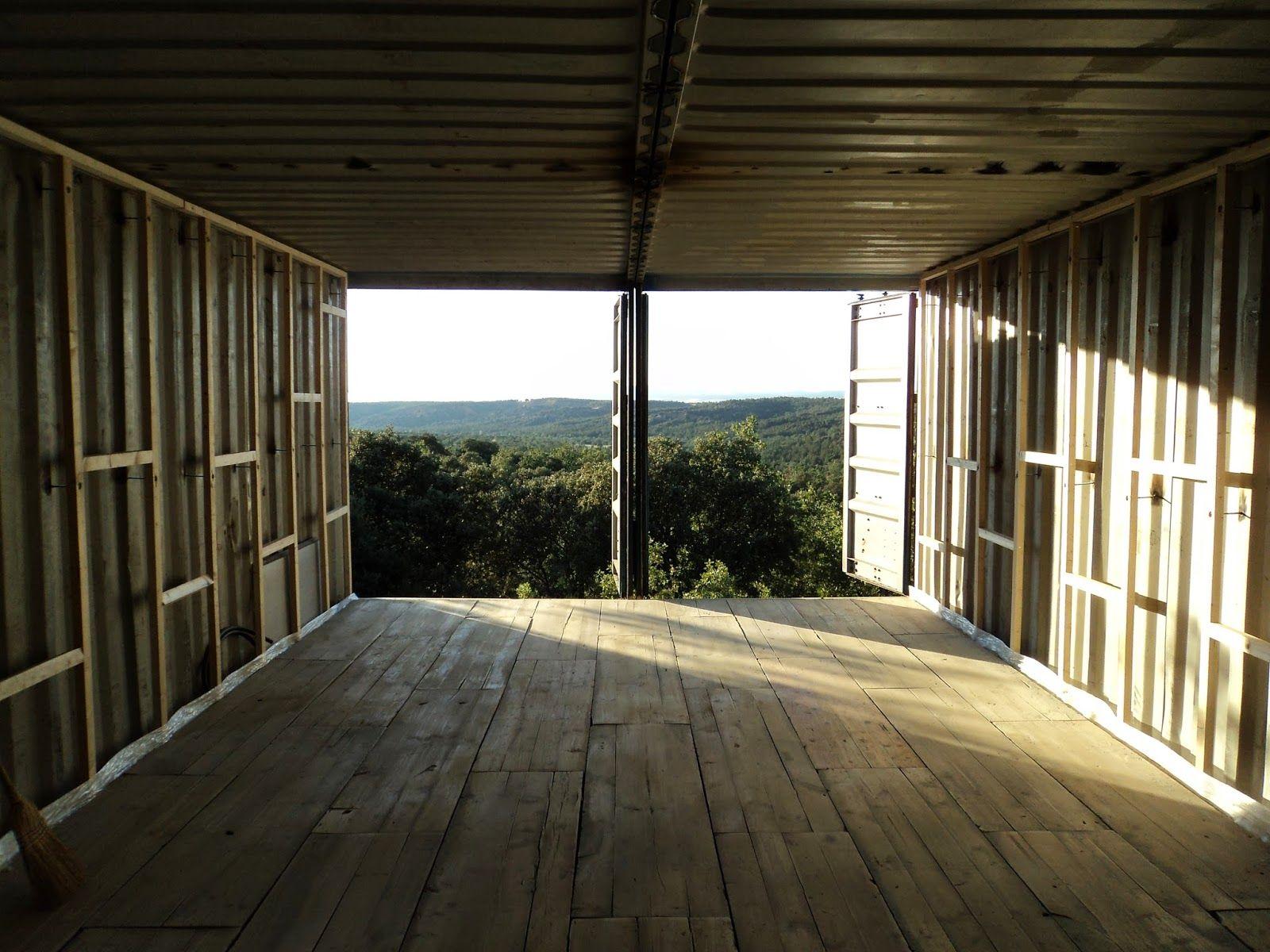 Autoconstrucci n c mo transformar un contenedor 2 parte - Transformar contenedor maritimo vivienda ...
