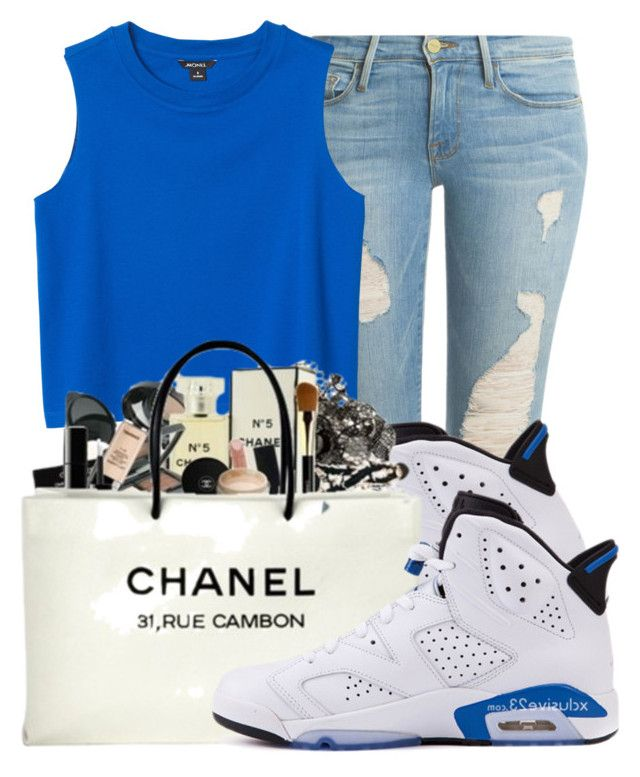 612311d30e85a0 by ray-royals ❤ liked on Polyvore featuring Frame Denim