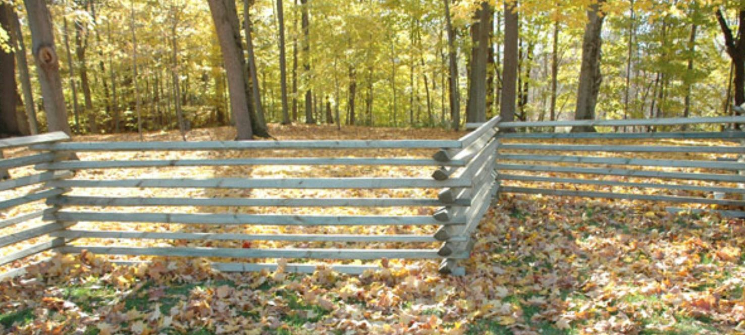 How To Construct A Split Rail Snake Fence Types Of Fences Fence