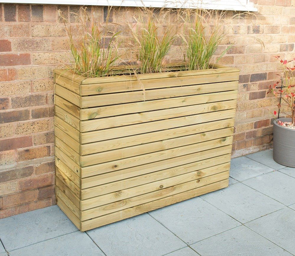 Forest Linear Tall Planter Tall Planter Boxes Diy Wood Planters Diy Wood Planter Box