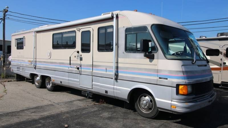 1991 Fleetwood Pace Arrow 37p For Sale Richmond In Rvt Com Classifieds Fleetwood Motor Homes For Sale Camping World Rv