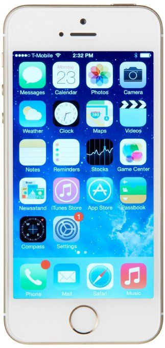 Amazon com: Apple iPhone 5s, Gold 16GB (Unlocked): Cell