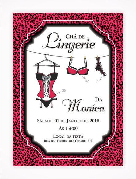 Convite Digital Chá de Lingerie 05