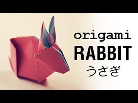 origami bunny rabbit tutorial amp diagram �������