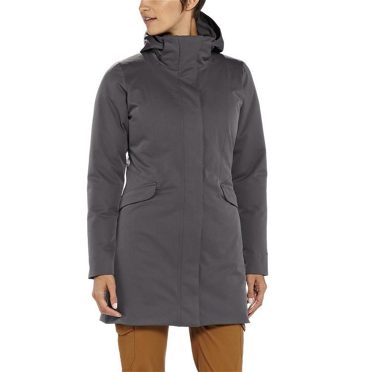 Patagonia women's duete parka forge grey