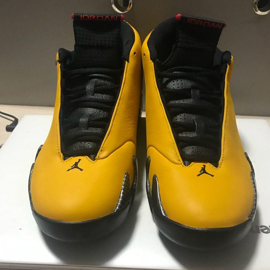 air jordan 14 noir et jaune