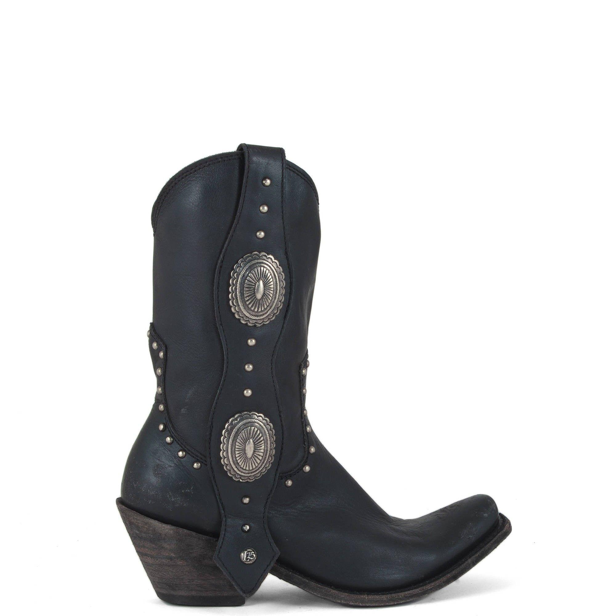 Allens Boots Women S Liberty Black Boots Delano Negro Lb