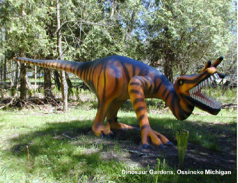 Dinosaur Gardens 11160 US Highway 23 S Ossineke MI The D MI
