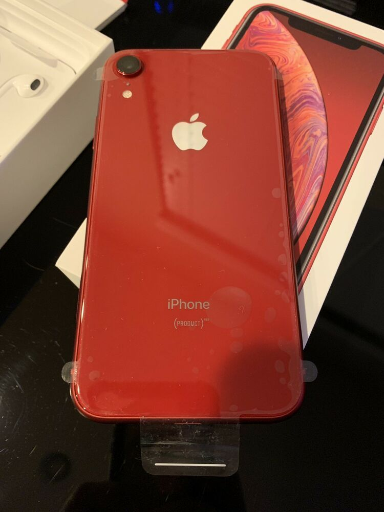 Apple Iphone Xr Red 64gb Verizon New Iphone Apple Iphonex