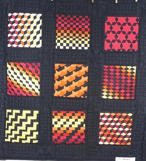 MESH WORK...QUILT....PC | Weaving fabric | Pinterest | Flechten