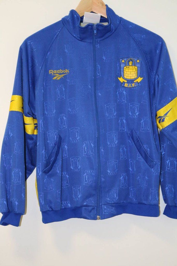Brondby Reebok Tracksuit Jacket Small 90s – Timeless Football