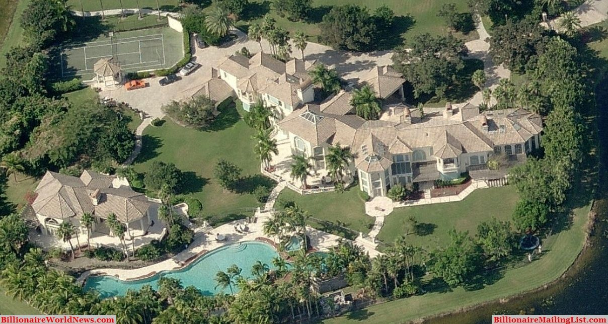 Billionaire Miami Mansions From Above U2013 An Aerial View. Huge MansionsInside  MansionsLuxury ...