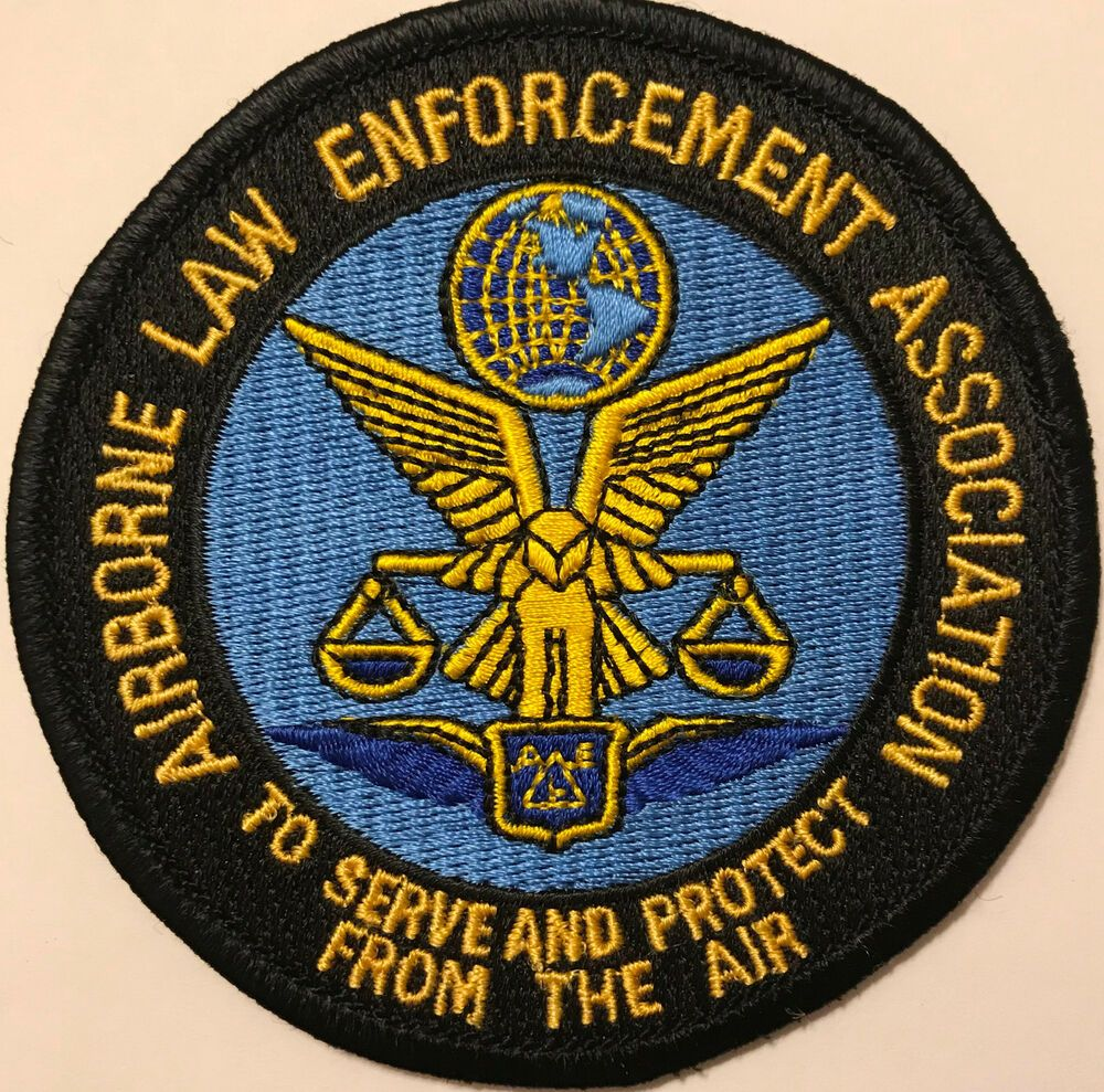 Airborne Law Enforcement Association Police Sheriff Patch