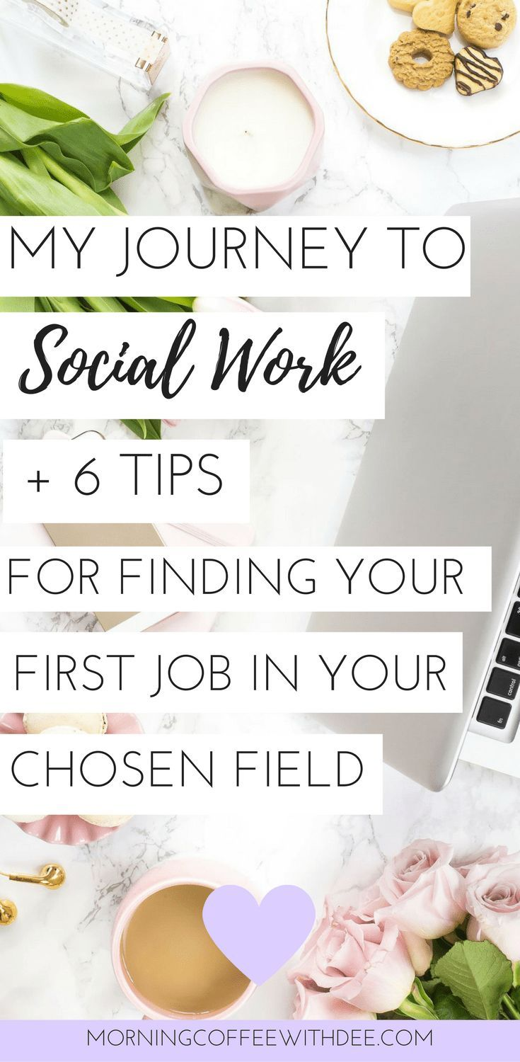 My Journey To Social Work  Job Search Tips For College Students