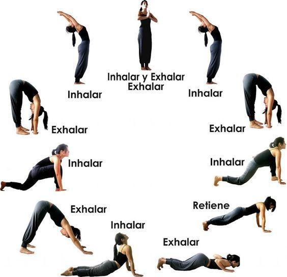Populares Yoga sequência - Ioga em Casa | Yoga para Iniciantes | Pinterest  PS42