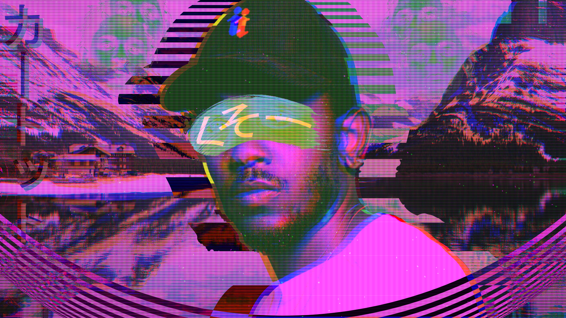 Kendrick Lamar Vaporwave Ish Wallpaper 1980x1080 Oc Laptop Wallpaper Vaporwave Art Art Wallpaper