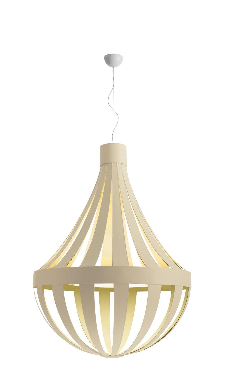 Sp Ana 150 Pendant Light Ivory White E27 Modern Glass Pendant