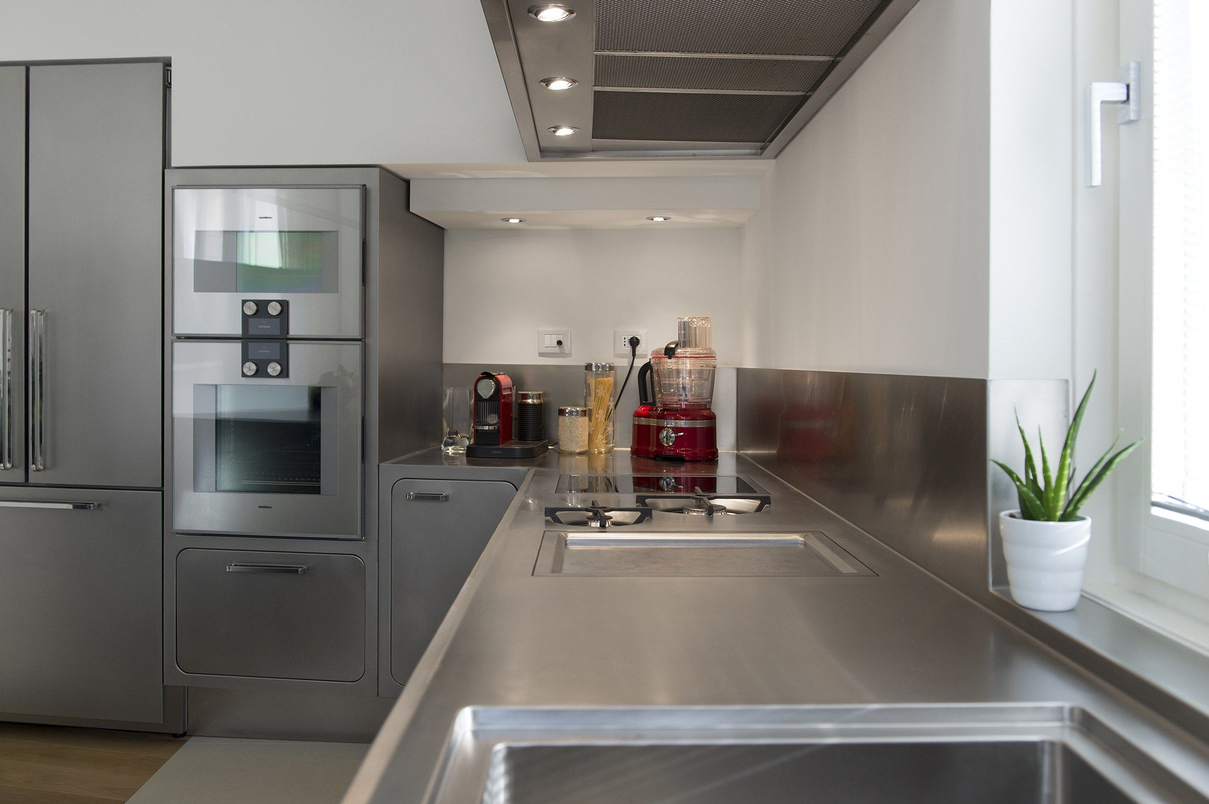 Cocina de acero inoxidable para uso profesional EGO by ABIMIS by ...