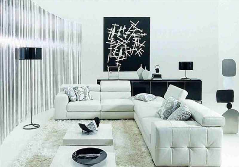 Modern L Shaped Sofa Design Is The Best Ideas For Your Interior Aida Homes Black And White Living Room White Living Room Decor Modern White Living Room