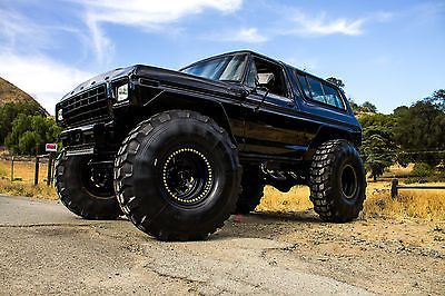4x4 Monster Truck Rock Crawler Off Road Mud Bogger 78 79 Bronco Show Truck Jeep Ford Bronco Trucks Bronco Truck
