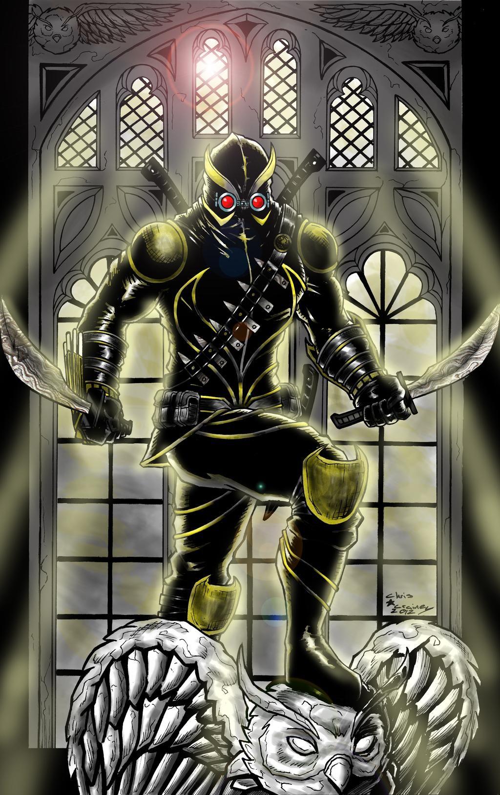 Talon By C Crain By Matthewlosure On Deviantart Court Of Owls Superhero Design Batman The Dark Knight