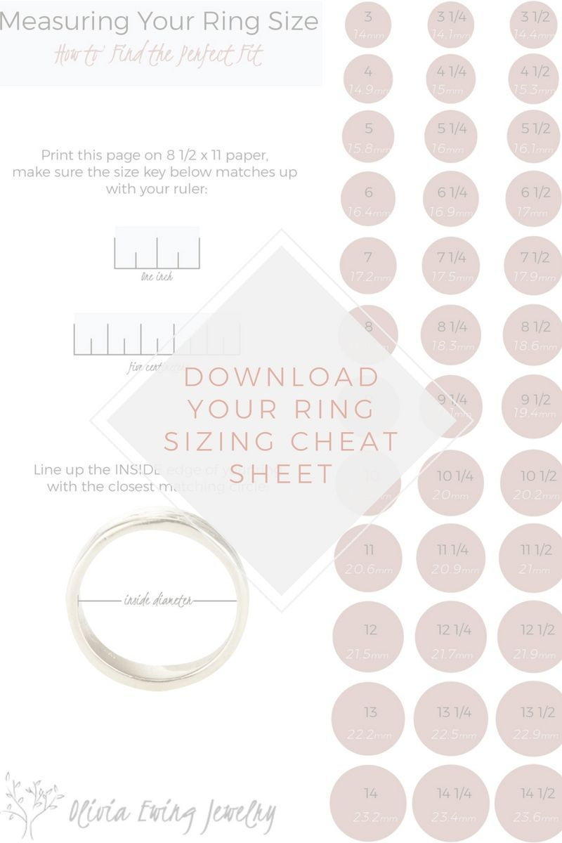 5 Tips To Nailing Her Ring Size Nature Inspired Engagement Rings