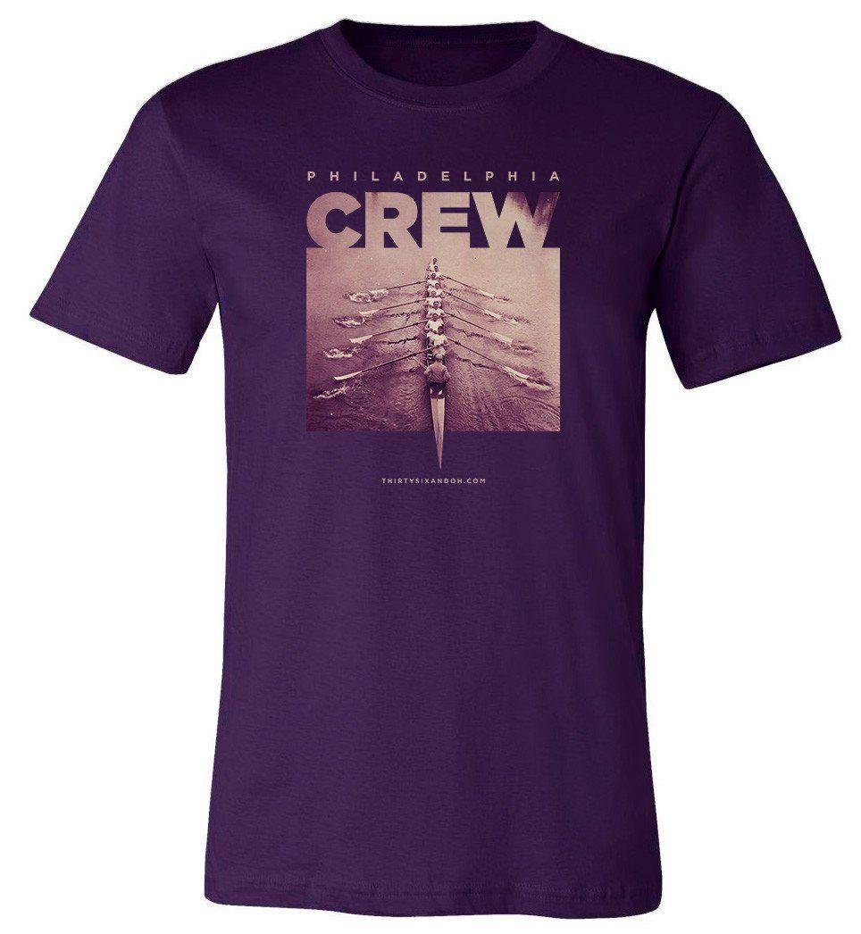 Vintage Philadelphia Crew Sport t shirt, Long sleeve tee
