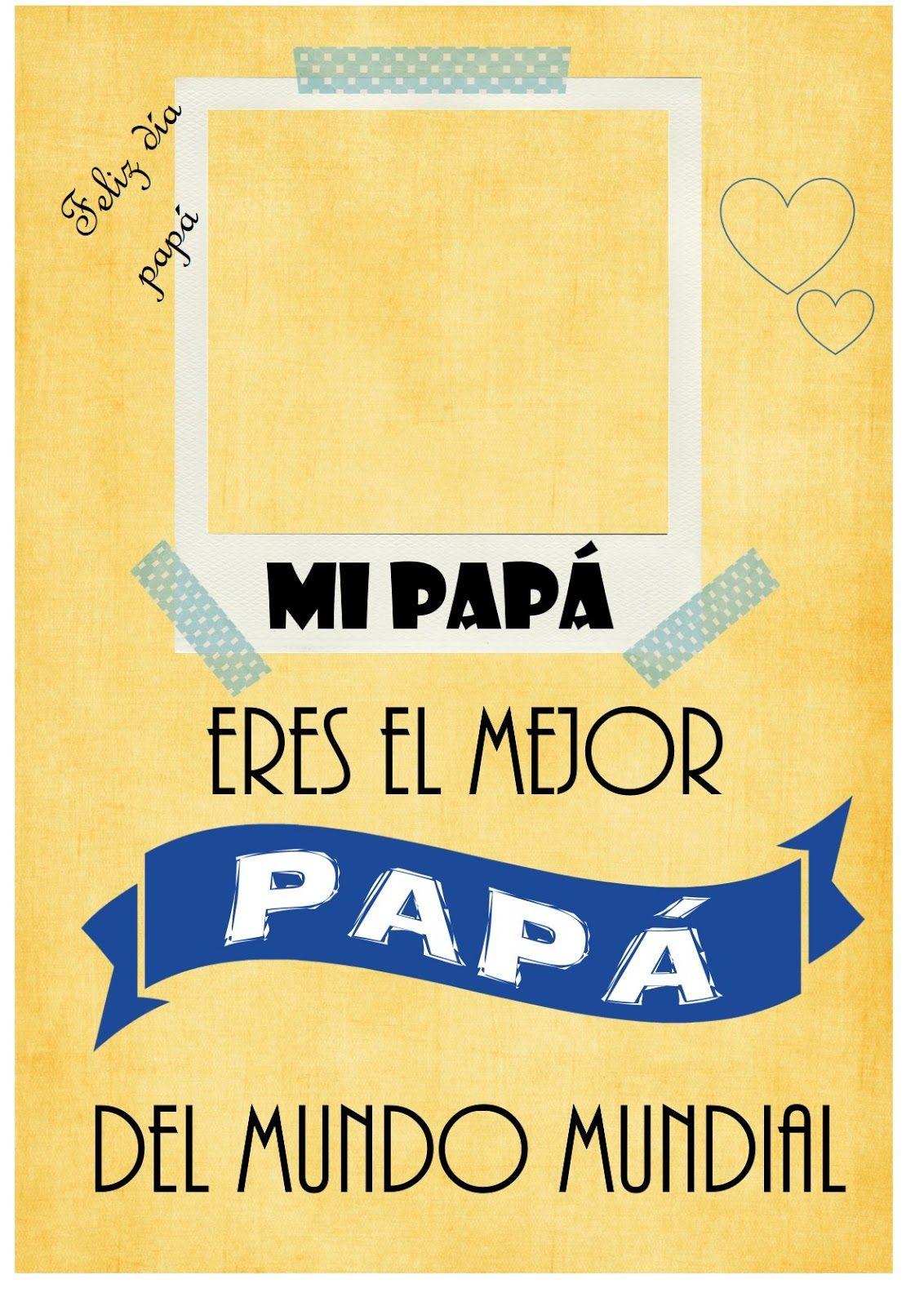 Imprimibles Para El Día Del Padre Dia Del Padre