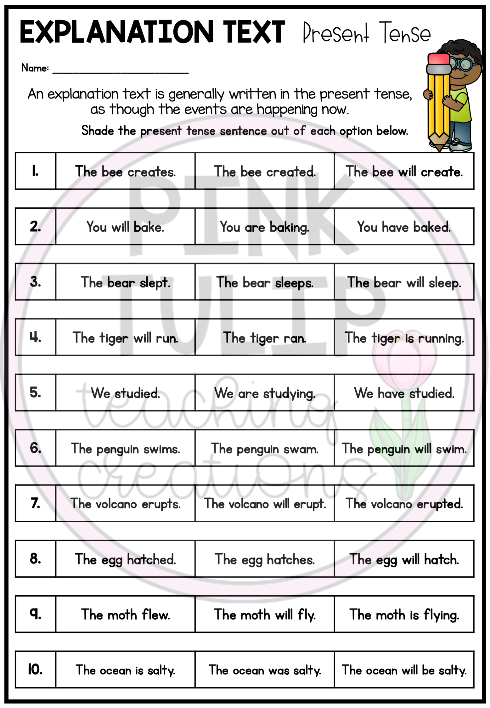 Explanation Text Writing Worksheet Pack No Prep Lesson Ideas Writing Worksheets Explanation Writing Explanation Text