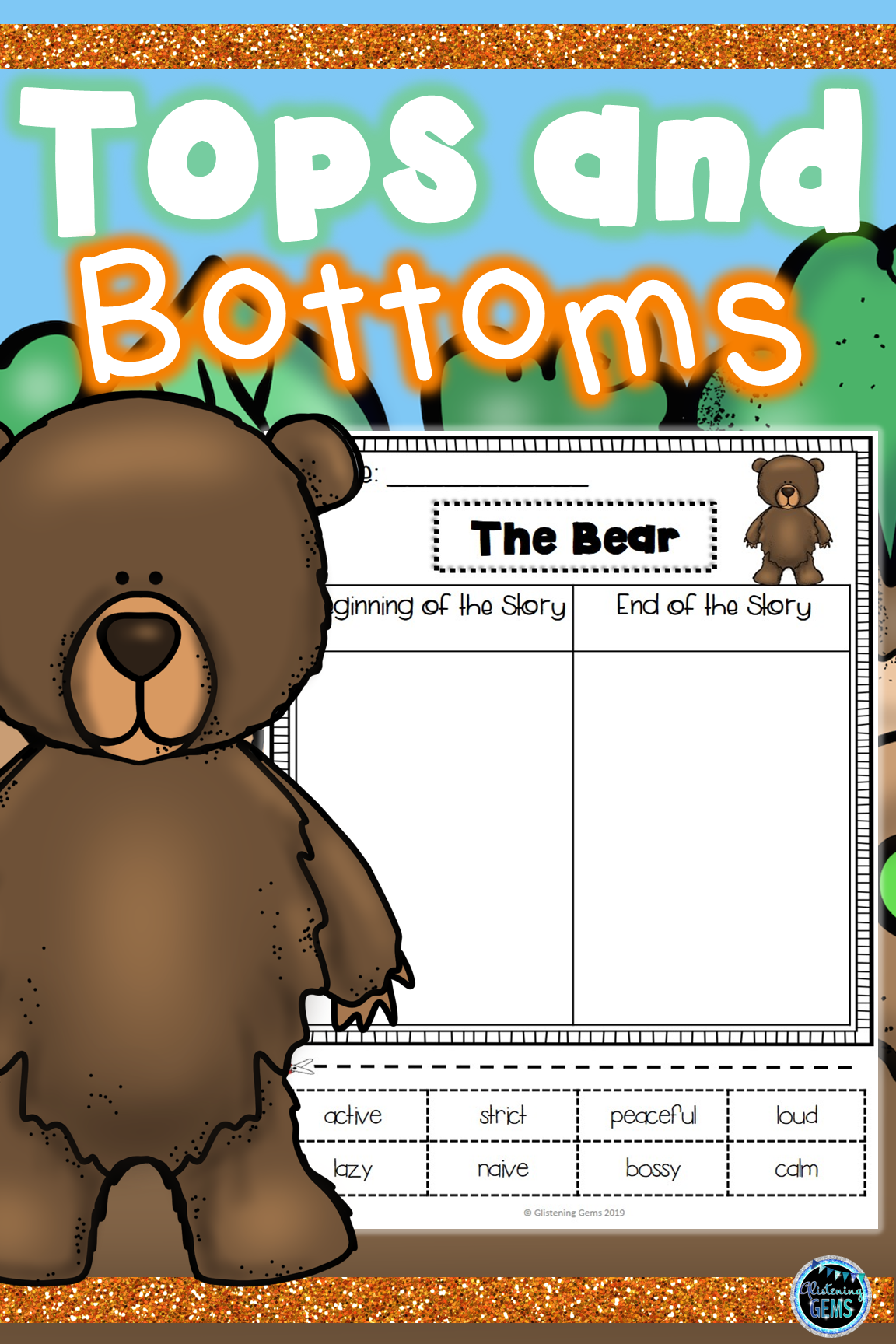 Tops And Bottoms Character Traits Sorting