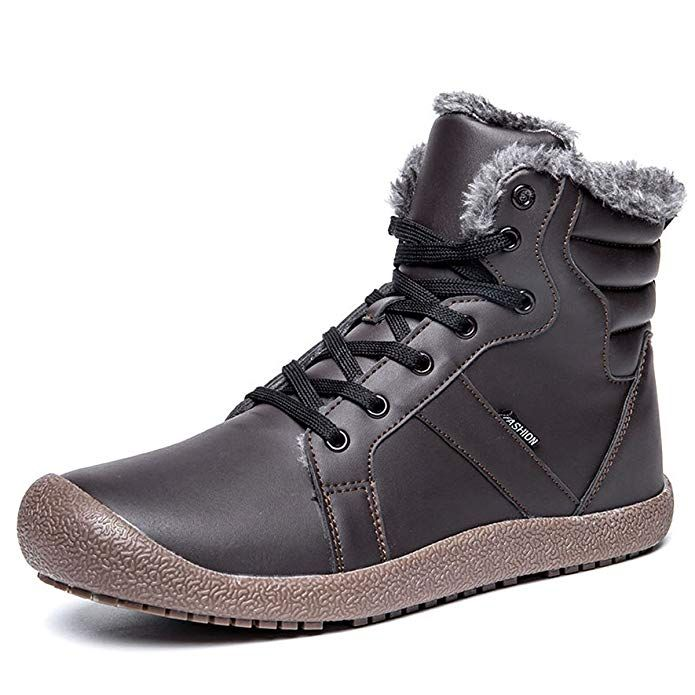 3c72c5cf8505a gracosy Winter Snow Boots, Men and Women 's Outdoor Warm Ankle ...