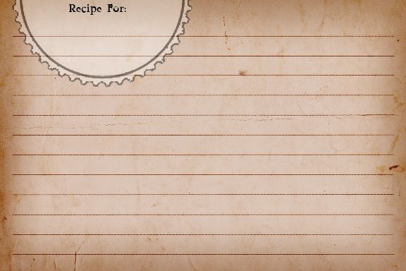 Sweetly Scrapped {Free♥} Printable Recipe Cards Recipe Cards - free recipe templates
