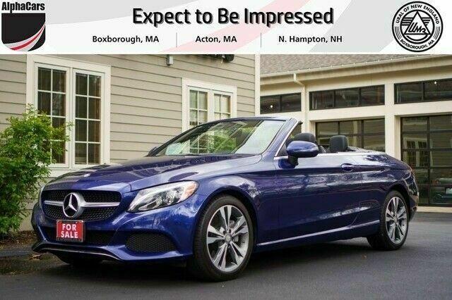 Ebay Advertisement 2017 Mercedes Benz C Class 4matic Cabriolet