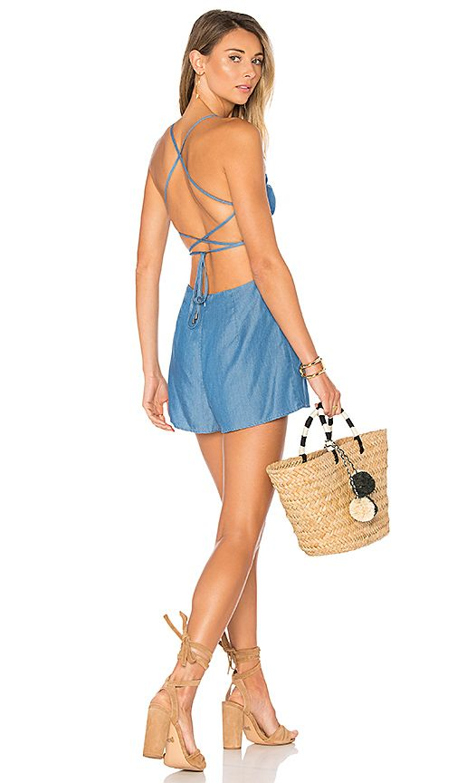 7e549f0594 Shop for Lovers + Friends Anna Romper in Ocean at REVOLVE. Free 2-3 day  shipping and returns