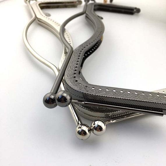 27cm(10.6inch) black purse metal bag frame A392-black | Pinterest ...