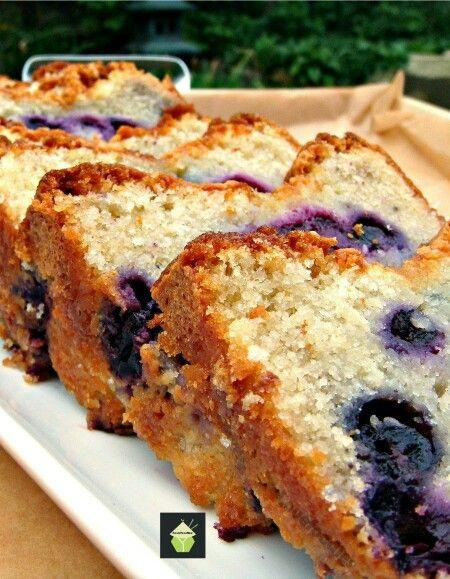 Blue berry pound cake