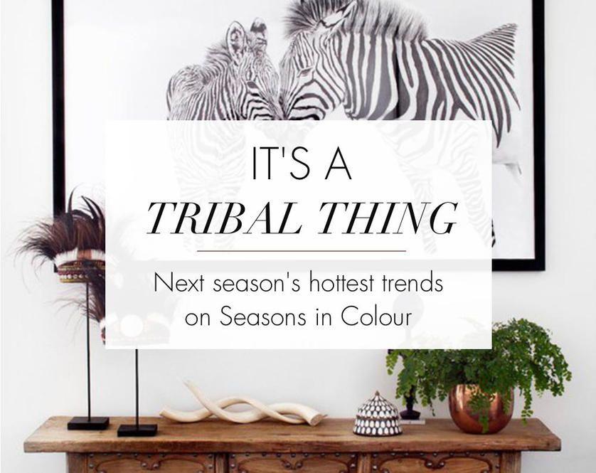 Afbeeldingsresultaat voor modern tribal interior