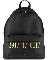 e8ac053e34c6 Givenchy Paris 1917 Leather Backpack - For Men black - Lyst