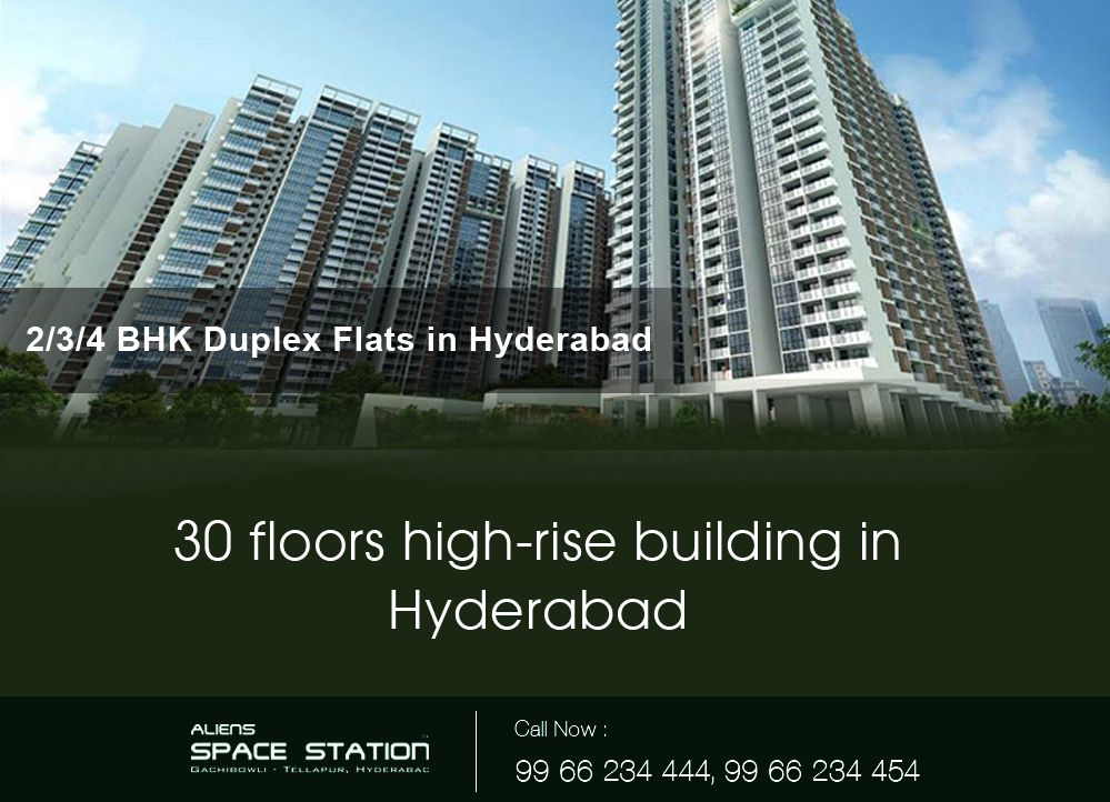 Aliens Space Station offering the Best Apartments in Hyderabad – Duplex  Flats, Residential Flats,