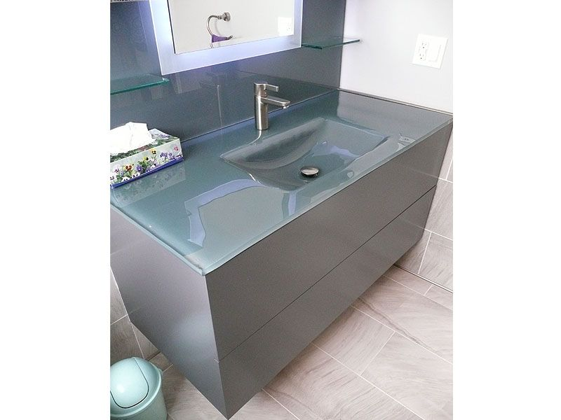 Quartz Integrated Bathroom Sink as Your Reference