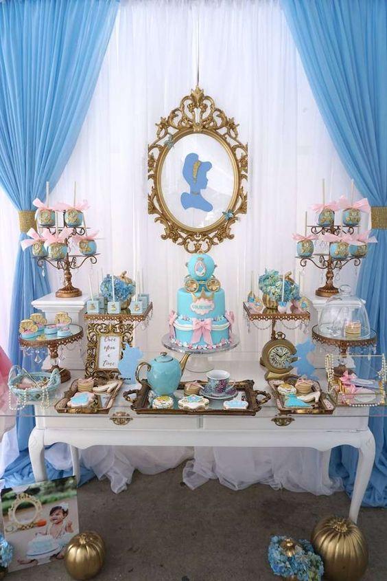 Cumpleaños de cenicienta - fiesta infantil | Fiestas, Birthdays and Bar