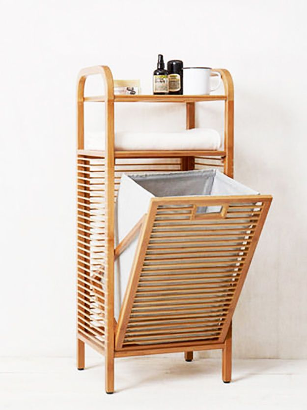 This Bamboo Basket 47 Space Saving Furniture Bamboo Bathroom Diy Home Decor