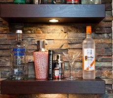 wet bar backsplash ideas   Home Bar Design   Bar   Pinterest ...