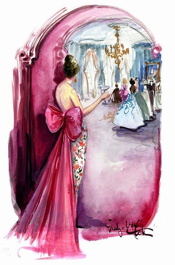 Virtuosas com Estilo: Ilustração de Moda: Katie Rodgers...