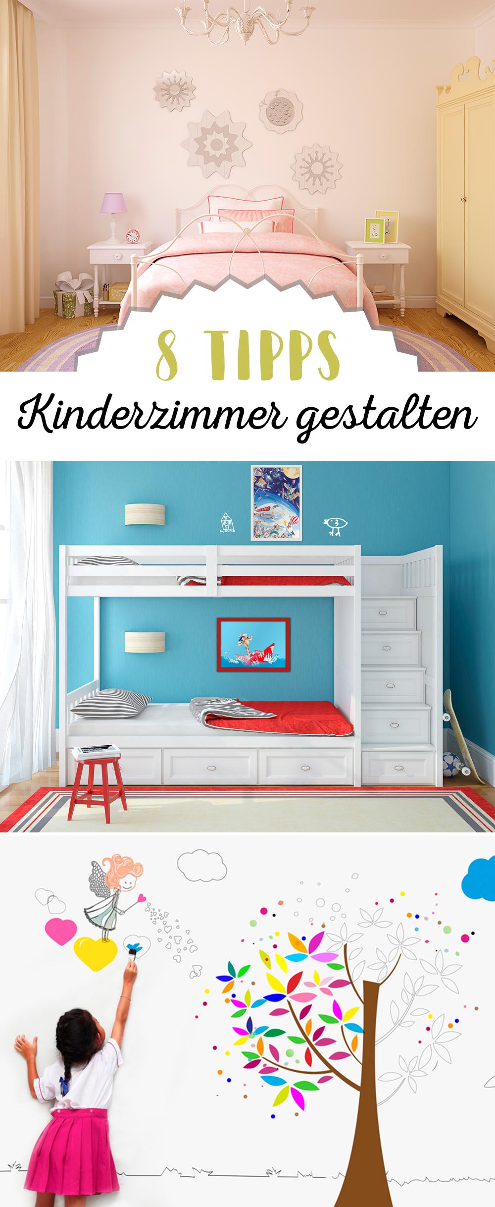 Kinderzimmer gestalten leicht gemacht - 8 Tipps   Kinderzimmer ...