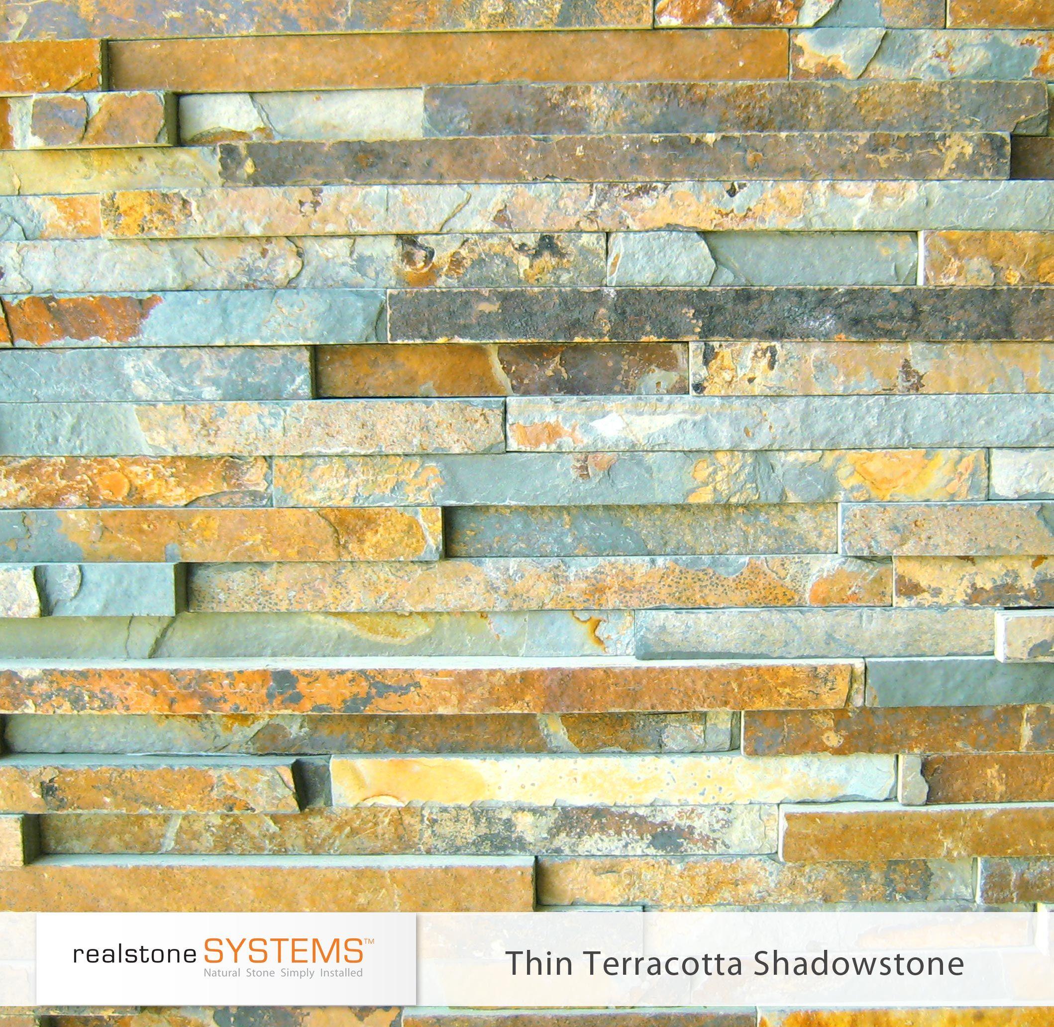 Thin Terracotta Shadowstone, Thinstone Veneers from Realstone ...