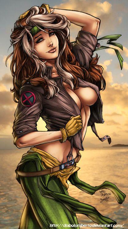 Rogue comic sex