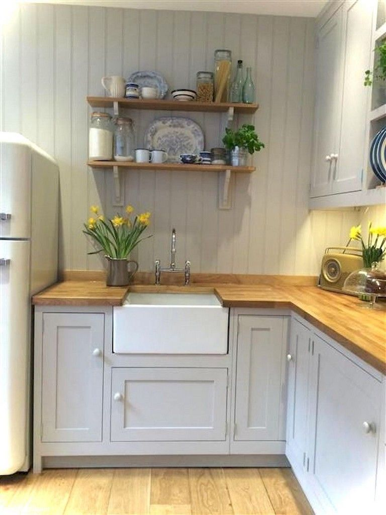 Corner window kitchen sink   marvelous tiny house kitchen design ideas  kitchen  pinterest